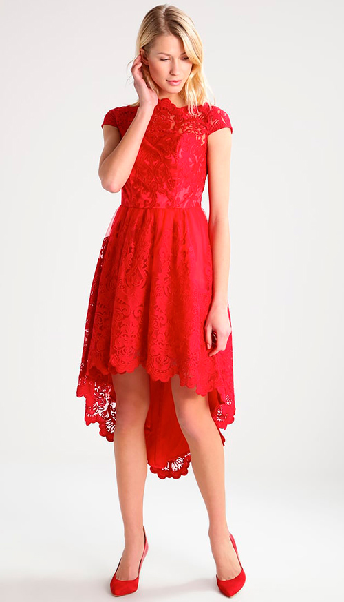 vestidos de fiesta encaje largos