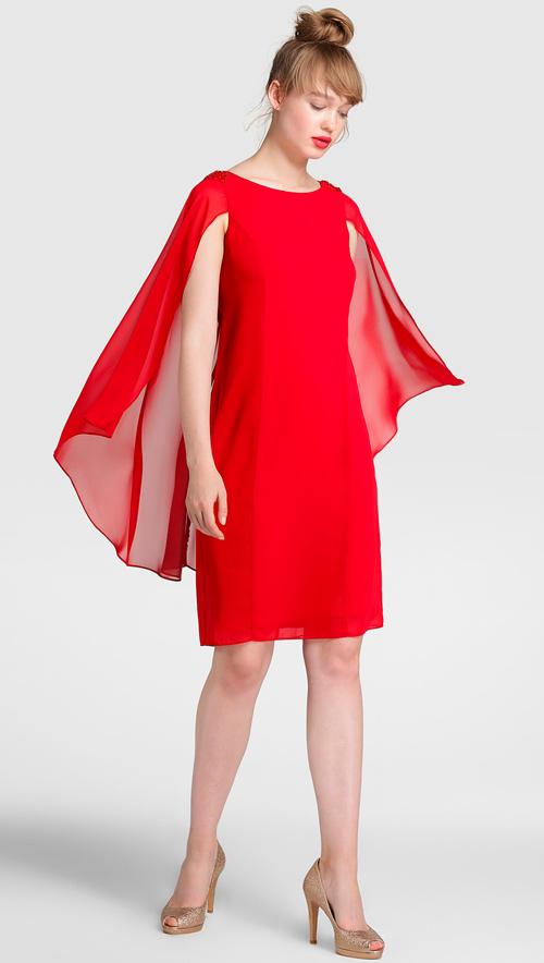 vestidos de fiesta largos rojo