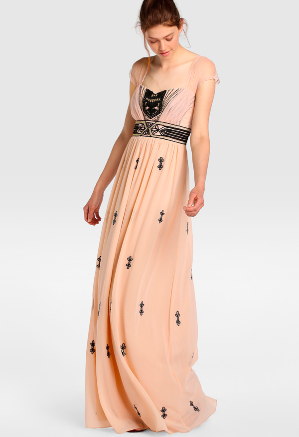 vestidos largos del corte ingles