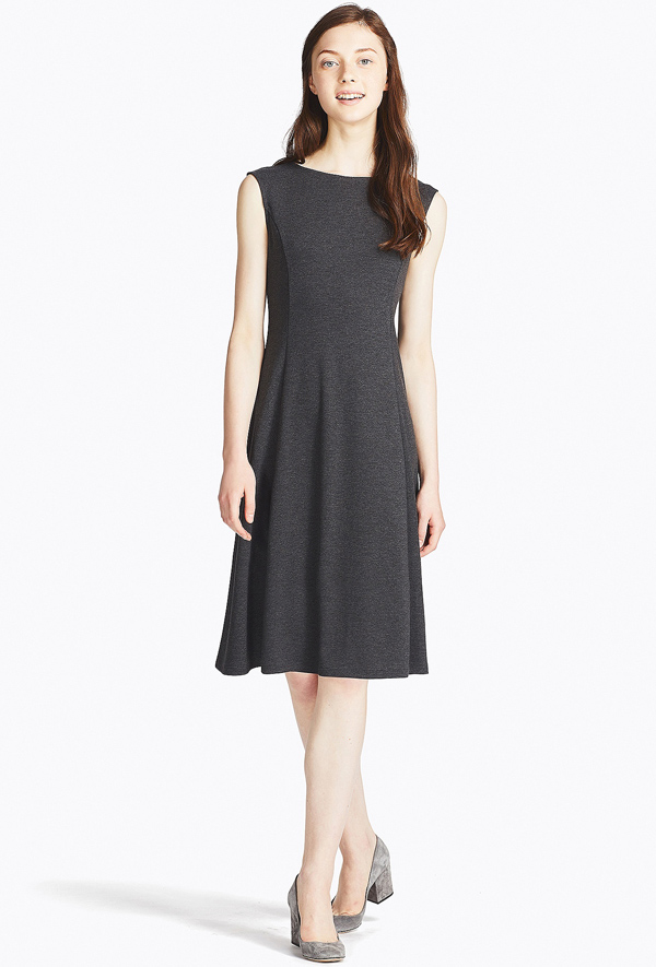 vestidos manga larga corto