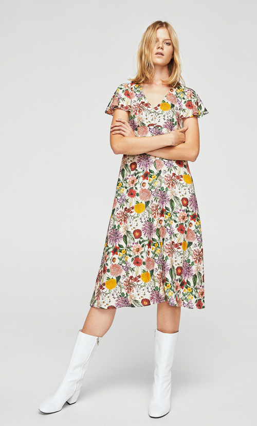 vestidos mango temporada