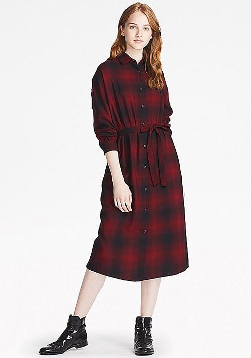 vestidos mujer manga larga