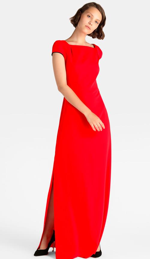 vestidos rojos de fiesta baratos