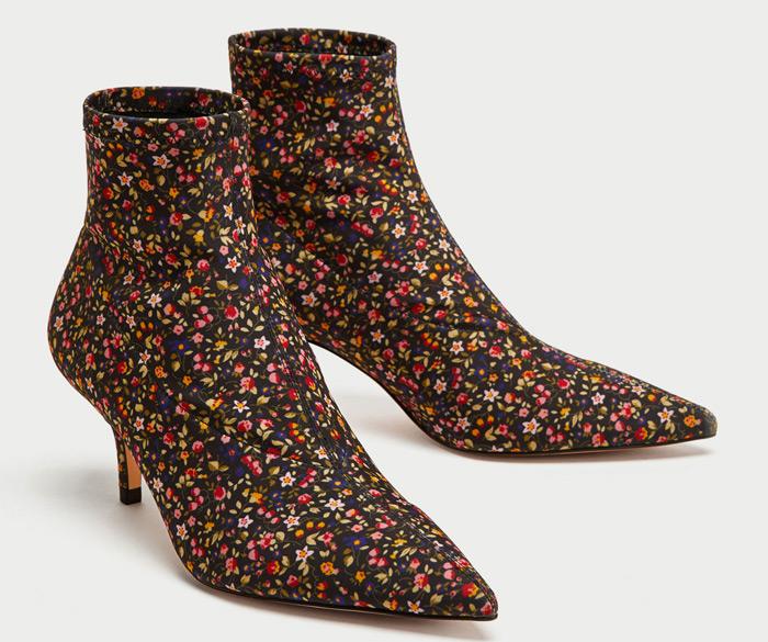 zapato estilo calcetín