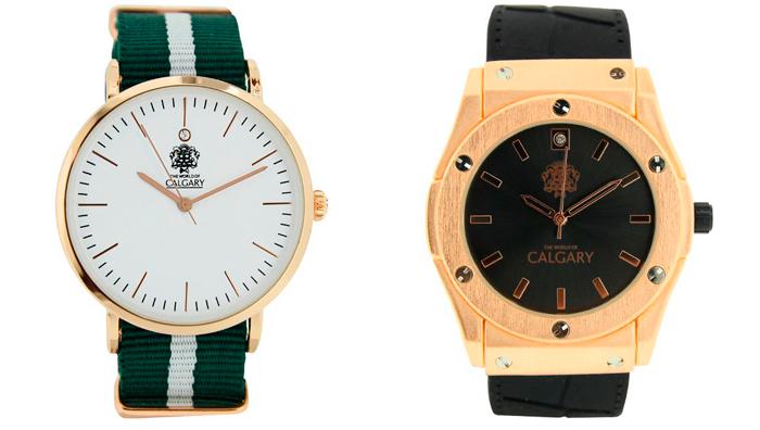 precio reloj calgary