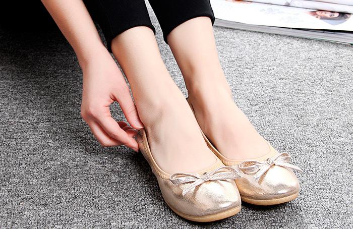 zapatos para el bolso