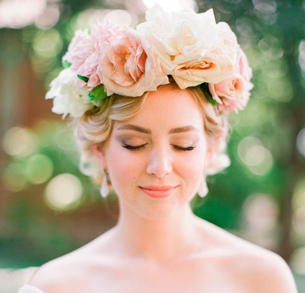 tocados de novia para pelo