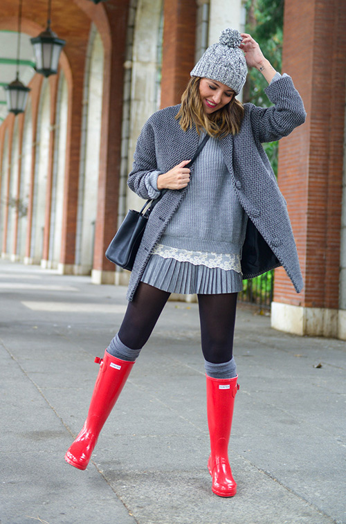 botas lluvia hunter