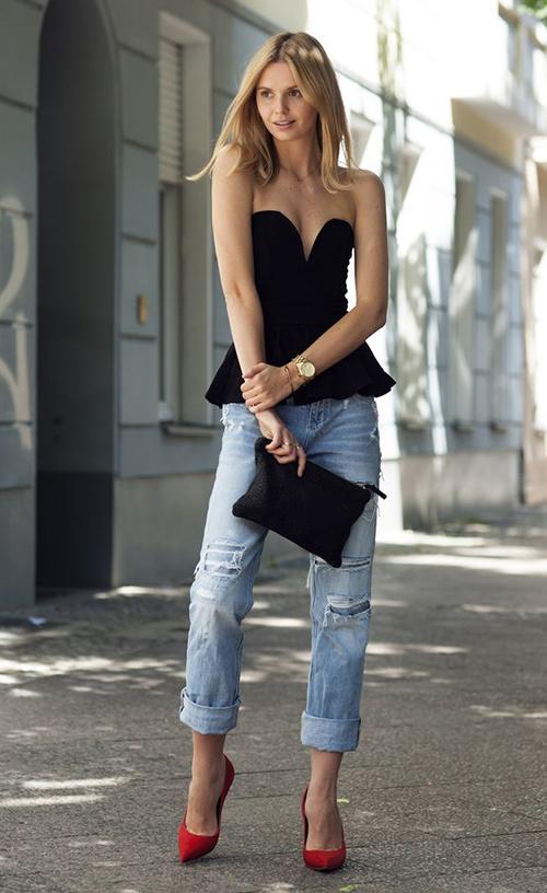 combinar jeans