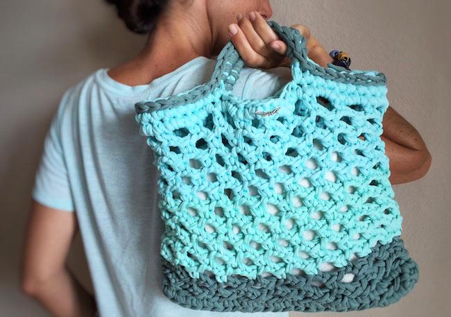 como hacer bolsos de tela patrones