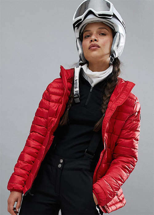 chaqueta snow mujer