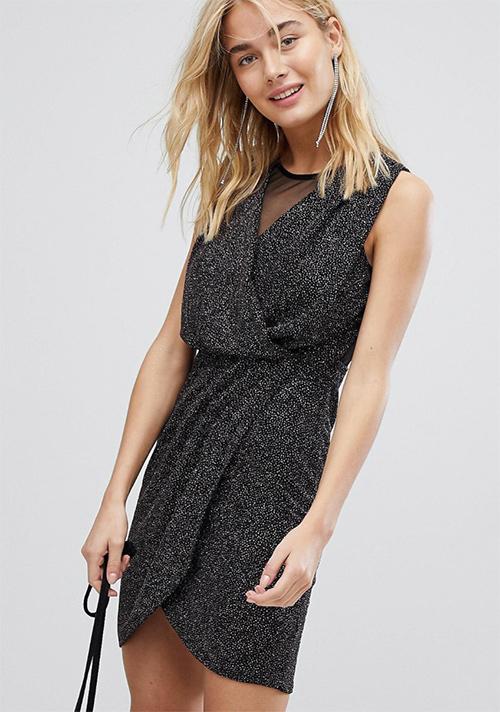 vestidos negros de fiesta baratos