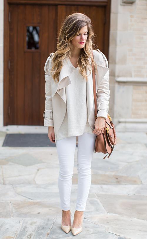 abrigos blancos
