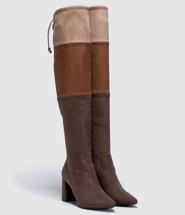 botas de piel baratas