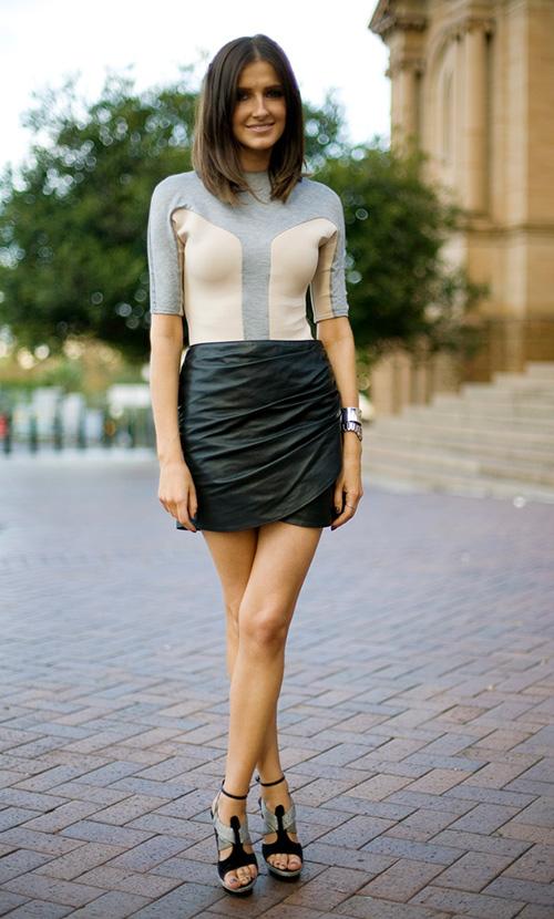 faldas de lana