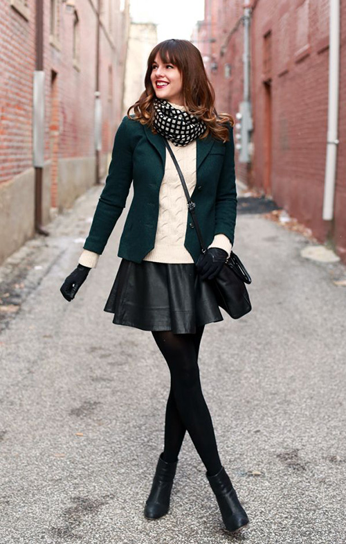 faldas invierno modernas