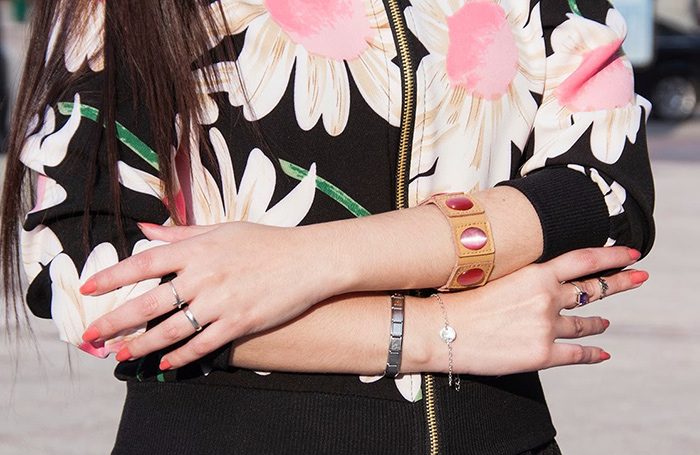 pulseras personalizadas tela