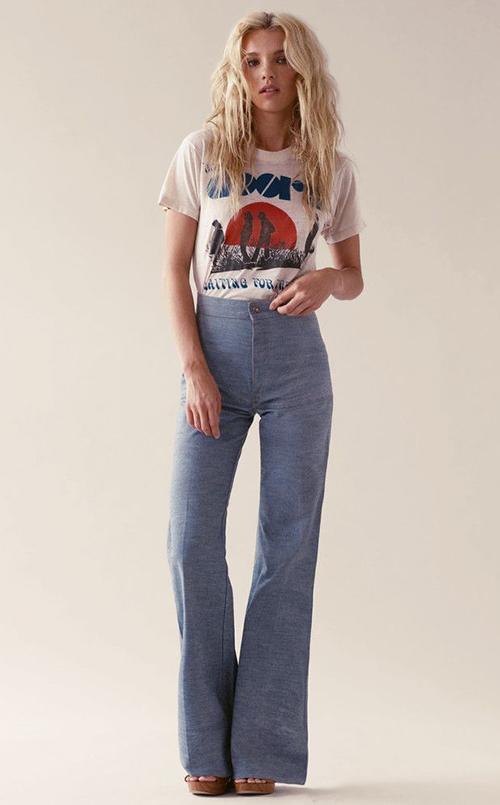 ropa de los años 70 y 80