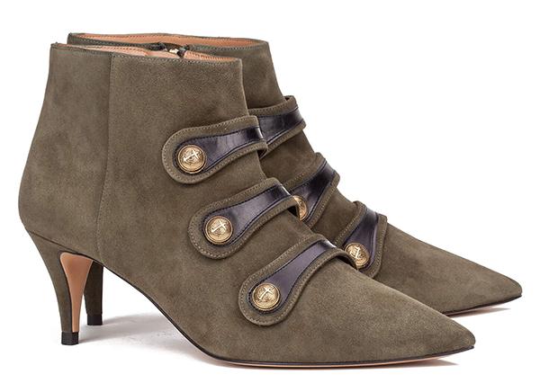 zapatos con tacón medio pura lopez