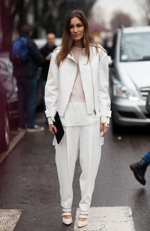 vestidos blancos invierno