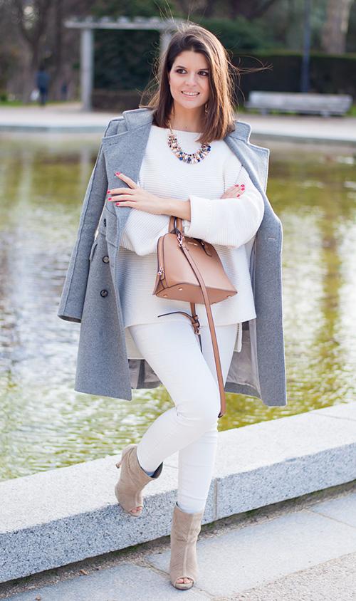 vestirse de blanco en invierno