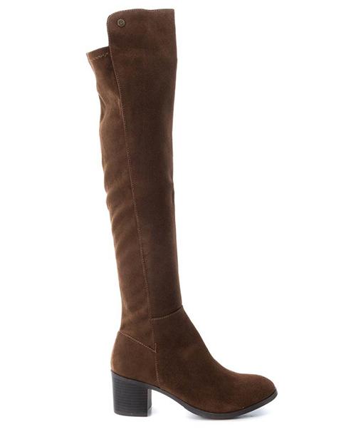 botas altas tacon mujer