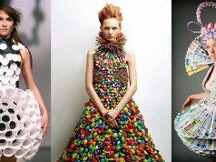 como hacer trajes reciclables