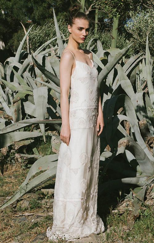 vestidos novia el corte ingles