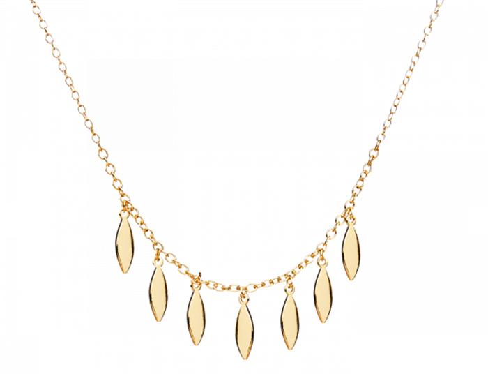 collares de oro baratos