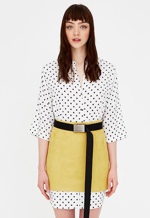 5ec534c22 falda de tubo negra corta - Tu Moda Online