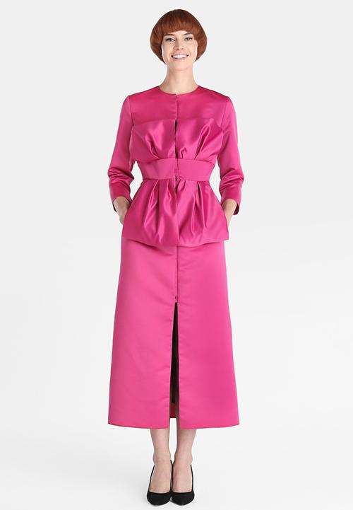 trajes de madrina rosa clara 2018