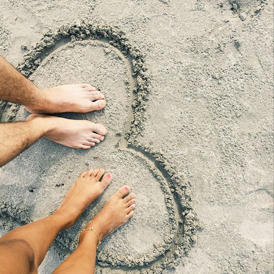 fotos de espalda en la playa