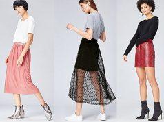 modelos de faldas cortas de vestir