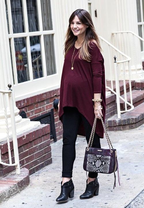 8d687fbdc Cómo vestir si estás embarazada; ¡Consejos y trucos ...