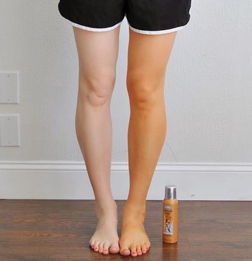 maquillaje piernas varices