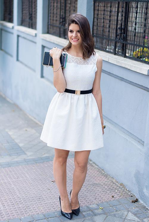 vestidos blancos el corte ingles