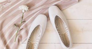 zapatos planos elegantes