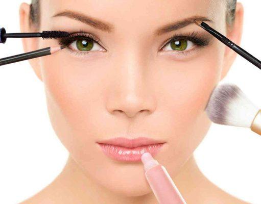 aprender a maquillar el rostro