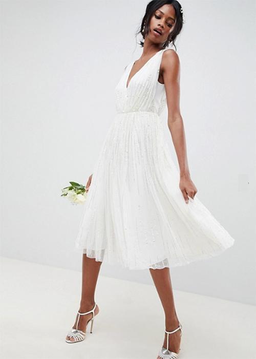 ▷ 10 vestidos de boda civil cortos ⇒ 【↓increíbles↓】 ⚡️