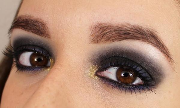 charleston maquillaje ojos