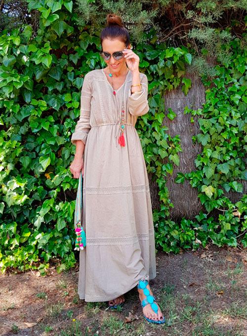 complementos para vestido turquesa