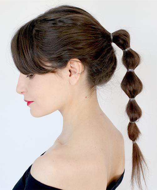 hacer peinados faciles pelo largo