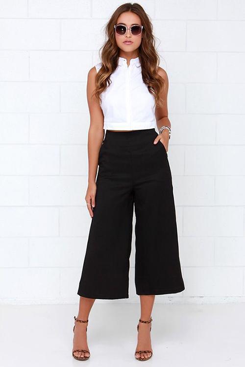 look pantalon ancho