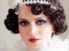 maquillaje años 20 fotos
