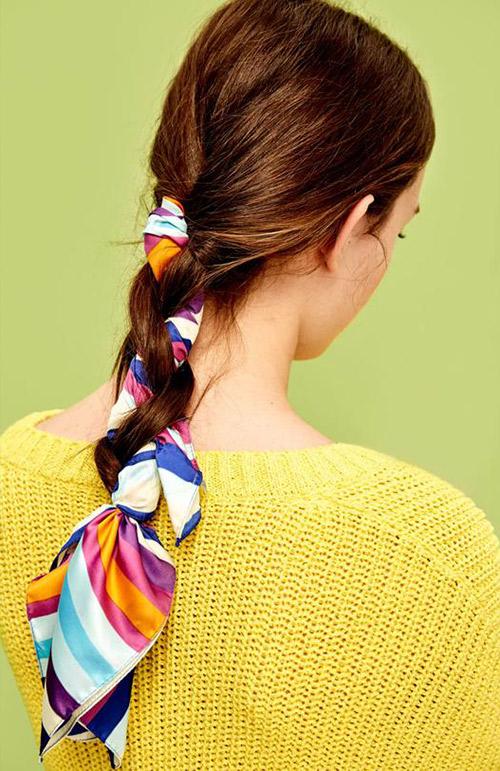 peinados recogidos sencillos