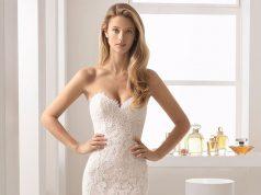 vestido novia escote corazon