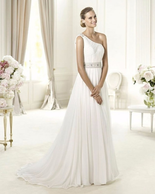 vestidos de novia escote halter