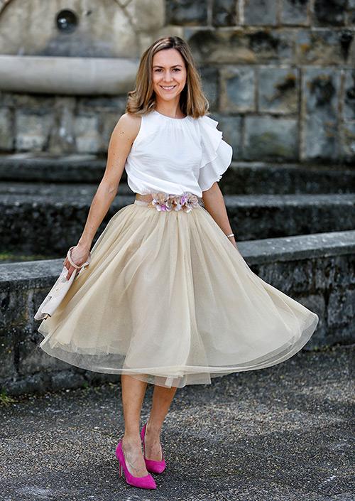vestidos para vestir en un bautizo de tarde
