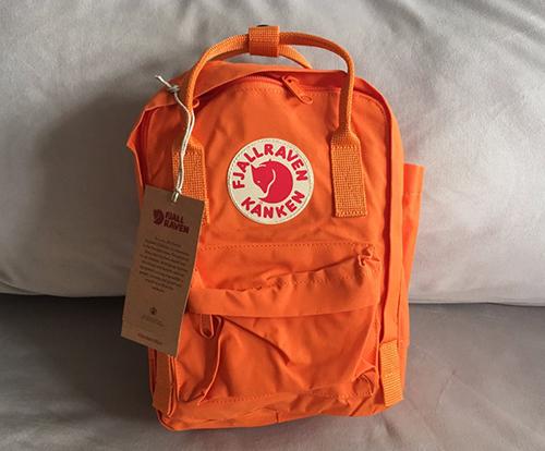 tamaños mochilas kanken