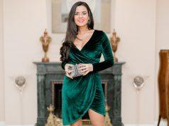 vestido verde para una boda